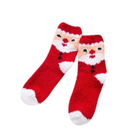 Sylar Navidad Calcetines Mujer Termicos Barato Grueso Suave Casual Vellón De Coral Calcetines Lindo Cómodos Caliente Deporte Calcetines: Amazon.es: Ropa y ...
