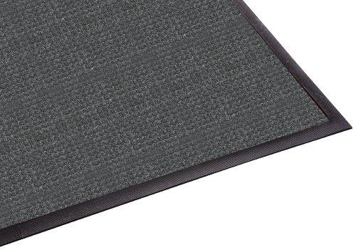 Scraper Mat Charcoal - Guardian WaterGuard Indoor/Outdoor Wiper Scraper Floor Mat, Rubber/Nylon, 4'x10', Charcoal