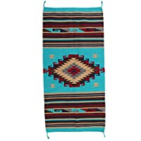 Beautiful Hand-Woven Southwest Style Accent Rug Pattern 32 X 64 (32 x 64 inch, HA-H60A)