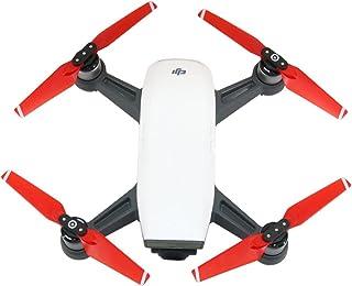 RC GearPro Eliche di Ricambio per eliche Set 4730F Compatibile per DJI Spark Drone, 4 Pezzi / Set (2 Set Red)