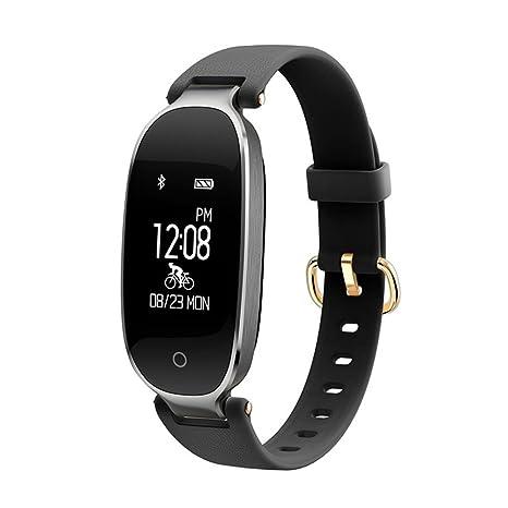 Amazon.com: Bluetooth impermeable S3 reloj inteligente moda ...