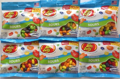 Box of Assorted Sour Sugar Free Splenda Jelly Belly