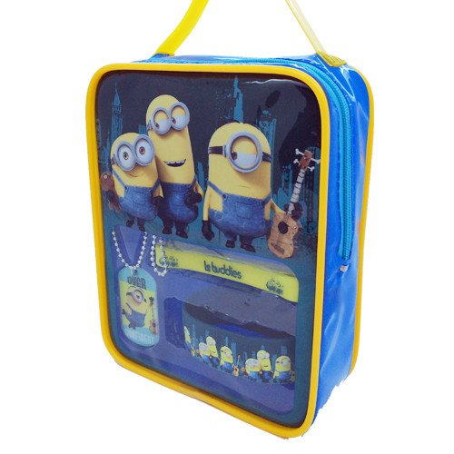 [Disney Despicable Me Minions Printed Backpack] (Grus Dog Costume)