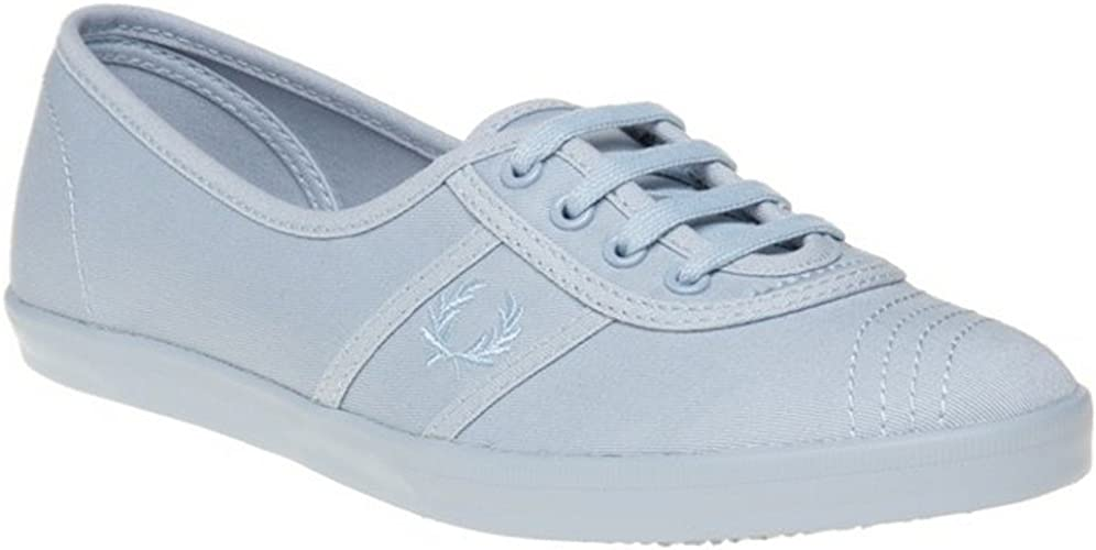 Womens Fred Perry Aubrey Twill Trainers