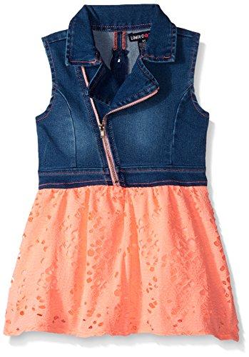 Pink Denim Dress - 5