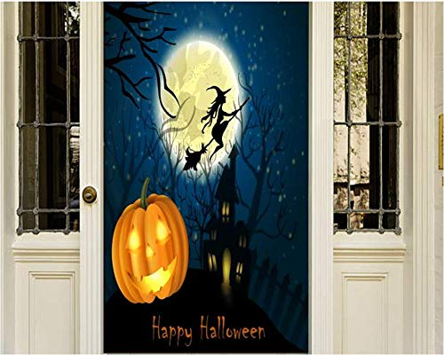 SANDT Company Halloween Door Decoration]()