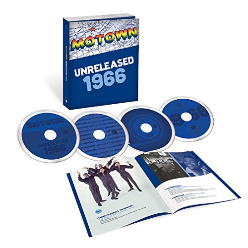 Motown Unreleased 1966 [Limited Edition 4 CD Box Set] (The Spinners The Very Best Of The Spinners)