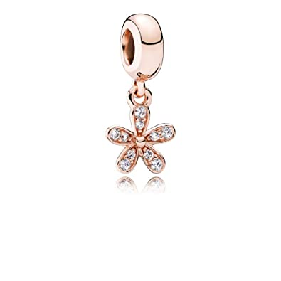 a4b8daf50 Image Unavailable. Image not available for. Color: PANDORA 781491CZ Rose  Dazzling Daisy ...