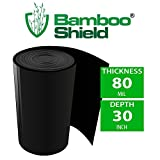 Bamboo Shield - 125 foot long x 30 inch x 80mil bamboo root barrier/water barrier