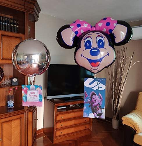 Peso equilibrador para tus globos helio + 4 globos. FLOTAN sin subir ni bajar, es ESPECTACULAR. Cuélgales las fotos que imprimas. Fiesta cumpleaños, decoración bodas, eventos, comuniones, publicidad.: Amazon.es: Hogar