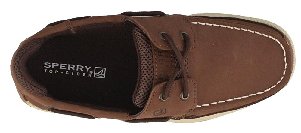 Lanyard Boat Shoes Brown 13.5 M YB54294A-201 SPERRY KIDS Boys