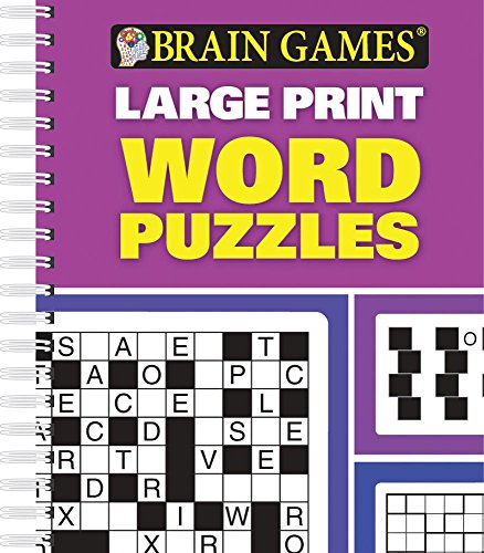 Brain Games® Large Print Word Puzzles (Word Search Puzzles Magazine)