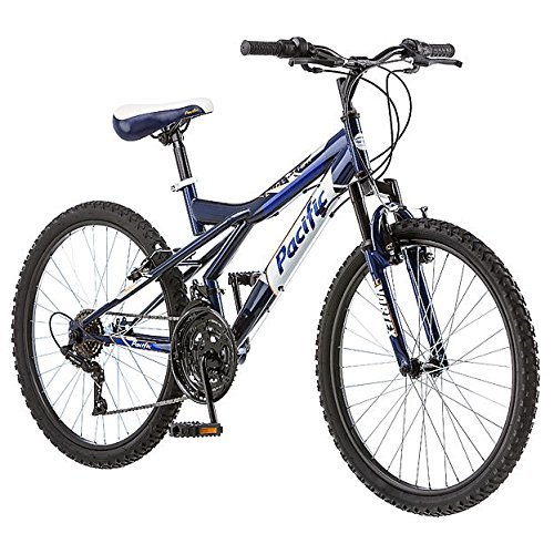Pacific Evolution Mountain Bike (Navy Blue)
