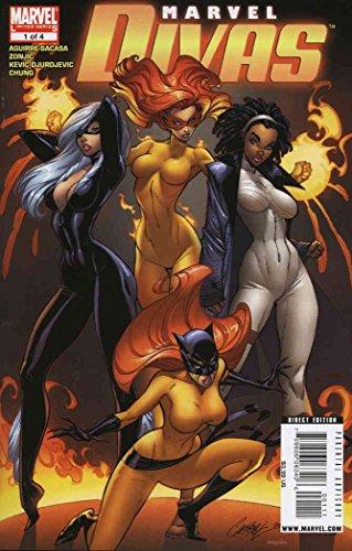 Marvel Divas #1 VF/NM ; Marvel comic book -