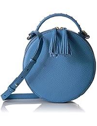 Hampton 2 Crossbody Leather Circle Bag