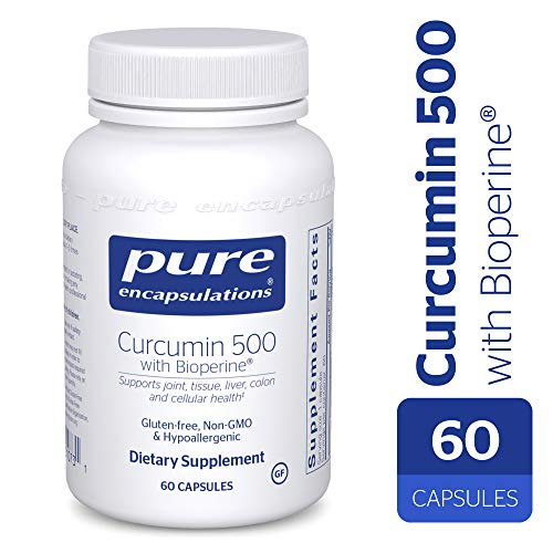Pure Encapsulations – Curcumin 500 with Bioperine – Antioxidants for The Maintenance of Good Health – 60 Capsules