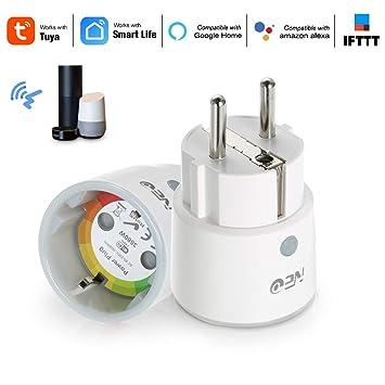 Festnight Smart Home Plug de Neo Control de Voz Inteligente de ...