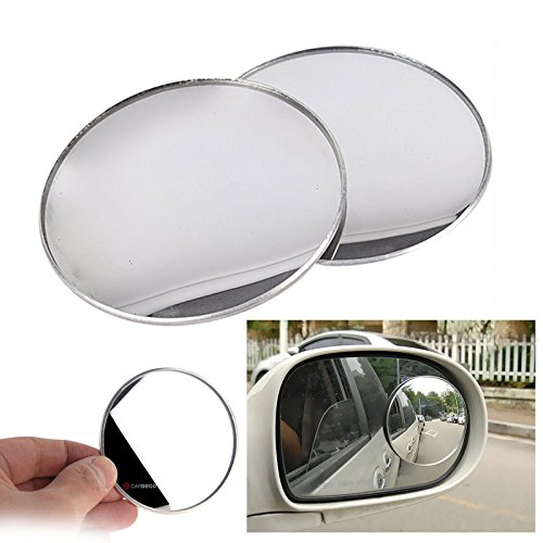 3inch 2pcs Cardeco Puzzle Plus Alpha Circle Mirror Blind Spot Rear Side View Rearview for Car Truck Accessories 75mm 3 2p Set