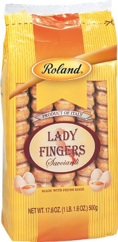 Roland Lady Fingers, Savoiardi, 17.6 Ounce (Pack of - Finger Biscuits Lady
