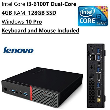Newest-Lenovo-ThinkCentre-Tiny-Flagship-High-Performance-Desktop-PC-Intel-Core-i3-6100T-Dual-Core-320-GHz-4GB-RAM-128GB-SSD-Bluetooth-WIFI-Windows-10-Pro-Keyboard-and-Mouse
