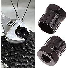 Binmer Flywheel Sleeve, Bike Bicycle Cassette Flywheel Freewheel Lockring Remover Removal Repair Tool