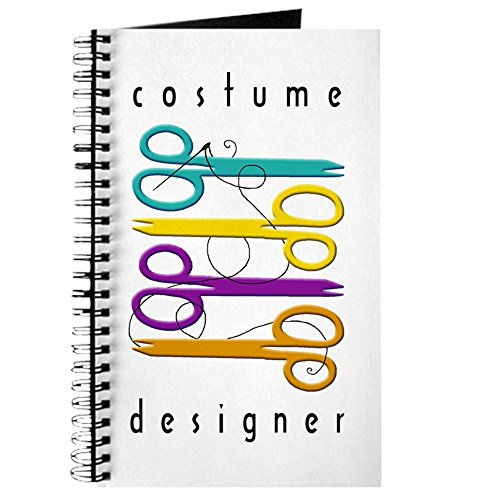 [CafePress - Costume Designer Journal - Spiral Bound Journal Notebook, Personal Diary, Blank] (Costumes For Drama)