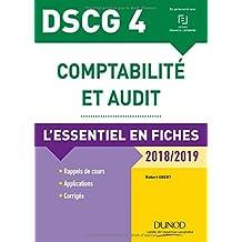Comptabilité et Audit 2018/2019: l'Essentiel En Fiches (dscg4) 7e