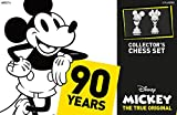 Mickey The True Original Chess Set 90th Anniversary | Collectable Piece Figures Set | 32 Custom Scuplt Pieces | Classic Disney Mickey Mouse Characters -  USAopoly