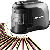 OPOLAR Electric Pencil Sharpener, USB or AC or Batteries Operated (not included), Ideal for No. 2 and Colored Pencils (6.5-8 mm),Heavy-duty Helical Blade, Perfect for Student, Artist