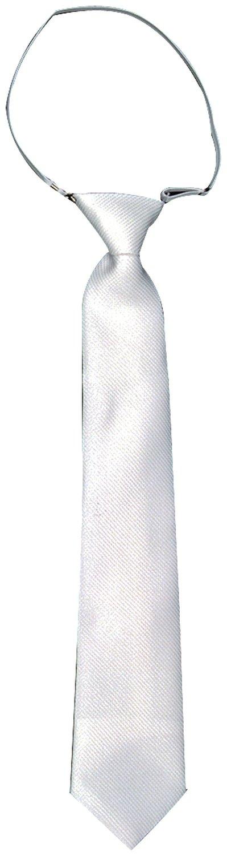 Générique Corbata Trevira nidos de Abeja con elástico – Blanco ...
