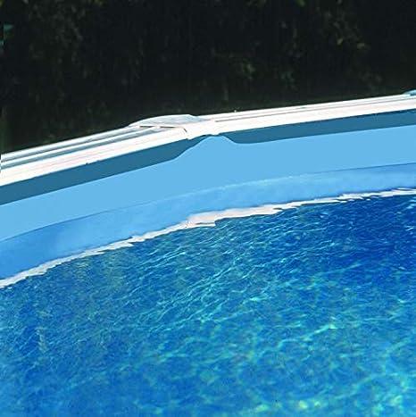 Gre FPR358 - Liner para Piscinas Redondas, Diámetro de 350 cm, Altura de 132 cm, Color Azul