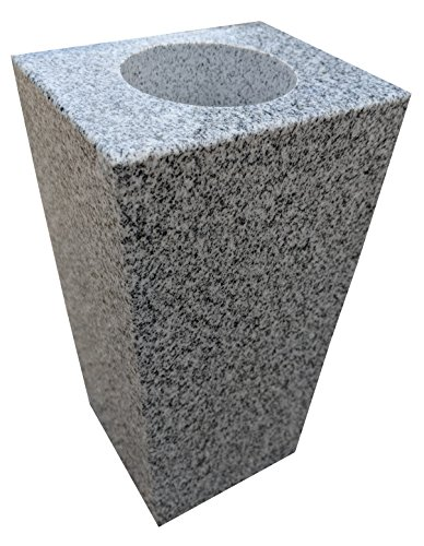 Upstate Stone Works Granite Vase Tapered (5