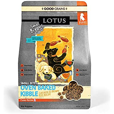 Lotus Small Bite Dry Puppy Food, 5 Lb.