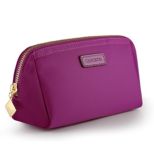 CHICECO Handy Cosmetic Pouch Clutch Makeup Bag - Magenta