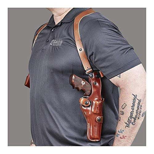 Best Holster for Large Waist Small Torso Vertical Shoulder Holster Galco Miami Classic