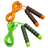 Adjustable Soft Skipping Rope with Skin-Friendly