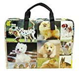 LAPTOP briefcase for dog lovers, FREE SHIPPING, padded computer work bag puppy puppies lover canine upcycled upcycle upcycling different person vegetarians products people enthusiasts enthusiast
