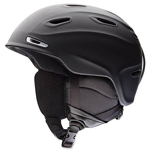 Black X-large Helmet (Smith Optics Unisex Adult Aspect Snow Sports Helmet - Matte Black Xlarge (63-67CM))