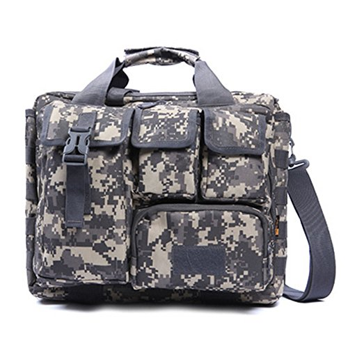 Camo Hip Holster - Leg Pouch Tactical Hip Bag - Sport Leg Bag Motorcycle Thigh Pack - Fishing Sling Pack Phone Belt Holster Tool Pouch Fanny Pack Military Waist Pack Utility Bags One Shoulder Backpack (ACU camo)