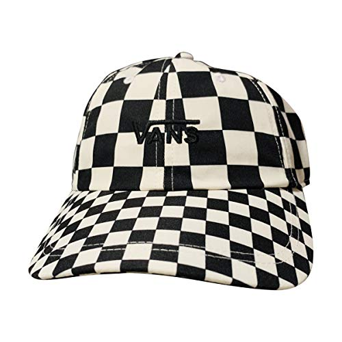 Vans Off The Wall Unisex Curved Bill Dad Hat Strapback Cap (Checkerboard, One Size)]()