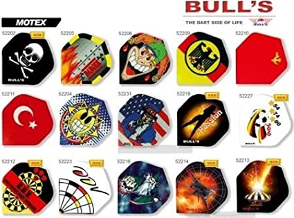 Bull' s Flight motex, Standard Dart Flights, Set da pezzi, tipo: 52206 Bull' s Flight motex