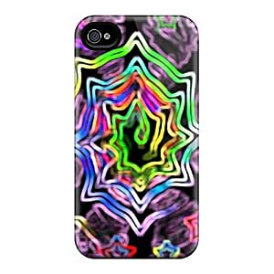 Tpu LisaMichelle Shockproof Scratcheproof Trip Much Hard Case Cover For Iphone 4/4s