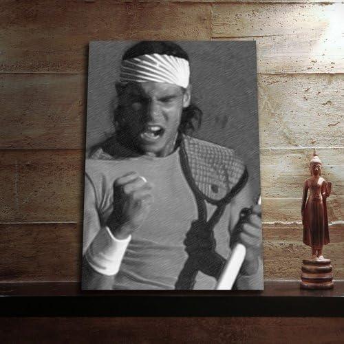 Rafael Nadal - Original Art Print (A4 - Signed by The Artist) #js008: Amazon.es: Hogar