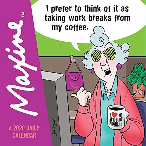 (2020 Maxine Daily Desktop Calendar)