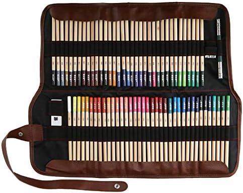 Lypumso 72 Piezas Set Lápices de Colores, Lápices de Colores Vivos para Dibujar, para Artistas Profesionales y Principiantes (72)