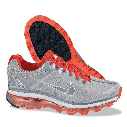 Nike Women's Air Max+ 2009 Running Shoe (Neutral Grey/ Br...