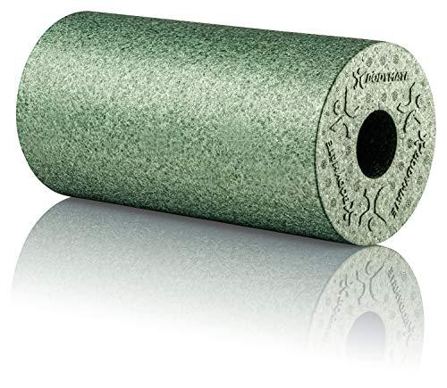 BODYMATE Faszienrolle Standard Mittel-Hart mit Gratis E-Book - Midnight-Green 30x15cm
