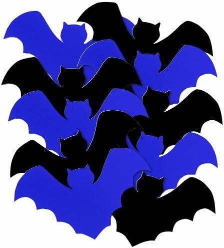 5 Paper Cut Out Bat Decorations 10ct Amazon Ca Home Kitchen