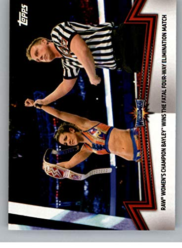 2018 Topps Womens Division Evolution Womens Champion #WC-14 Bayley NM-MT Official WWE Wresting Card