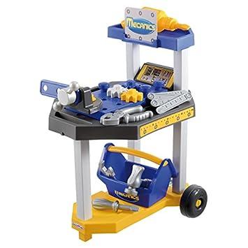 Ecoiffier 2354 - Taller mecánico de juguete con ruedas y accesorios: Amazon.es: Juguetes y juegos